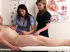 Cfnm infermiere Nadia Elainas paziente cums