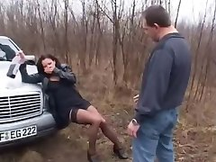street hooker fucked in the woods