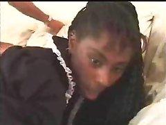 Zwarte Tiener Meid