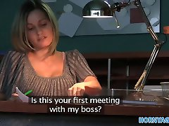 HornyAgent Office secretary fucked by a huge cock