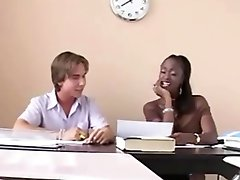 Ebony Teacher Gives Extra Tuition To White Student