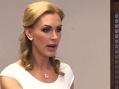 Tanya Tate E Aiden Ashley Office Sedução