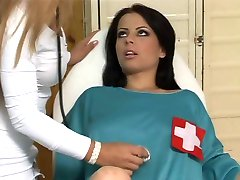 Teenage girl and lesbian doctor