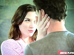 Stoya rewards James Dean with a playful fuck