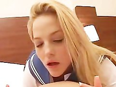 Alexis Texas Schoolgirl POV Sex with Asian Guy
