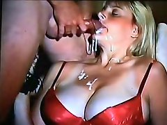 Wife takes another thick load blkmstng