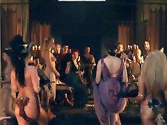 Spartacus: la scène de l'Orgie 01