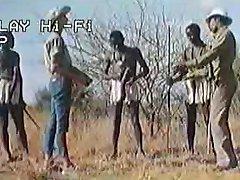 الأفريقية هائلة القضبان !سفاري الحقيقي!