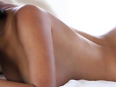 Petite hot glamour babe beauty loves herself