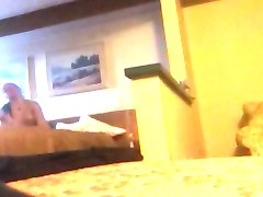 handjob in the hotel room