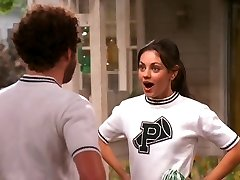 Mila Kunis That 70s Showcase Cheerleader compilation