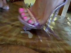 jaw-dropping high heel stomp