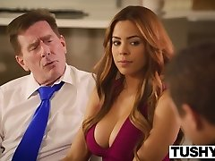 TUSHY First Anal For Brazilian Hotty Luna Star