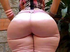 Cougar Mature in tight jeans yam-sized ass butt mom phat booty