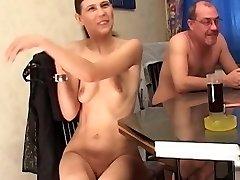 Amateur mature bisexual four-way