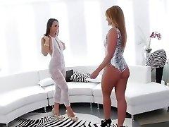 Incredible Ass Licking, Brunette sex clip