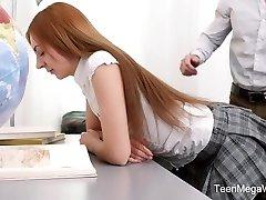 TeenMegaWorld - TeenSexMania - Adorable Schoolgirl
