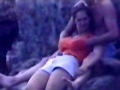 Candid beach camera filmed a fantastic vixen