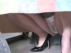 upskirt at home