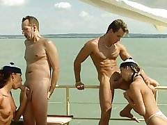 Mandy Bright - Orgy in the Boat