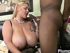 Plump Milf In Vigorous Sex