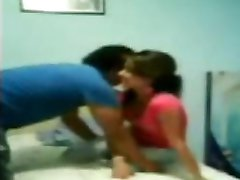 Collage Girl Fuck hard by Boyfriend
