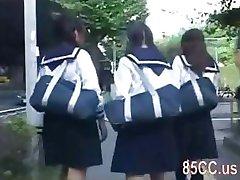 cute schoolgirl molested by bus geek 02