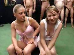 Two 18 yo Girls German Bukakke