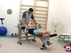 Zuzana Zeleznovova-Sex in The Gym (Gr-2)