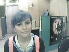 Teen cutie on webcam