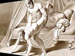 Erotic Art & Music - Waldeck Drawings