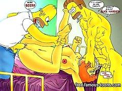 Famous cartoon celebrities sex