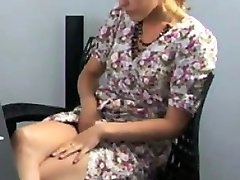 Cute Girl Masturbating At The Office