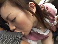 Mika Fukunaga - Japorno horny lady got sperm at office
