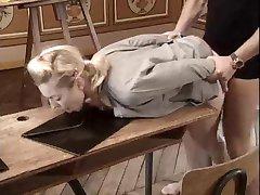 Ivona Zampova fucked on school desk.