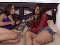 Ariel Rose and Nipsy Doll Fuck Stepbrother