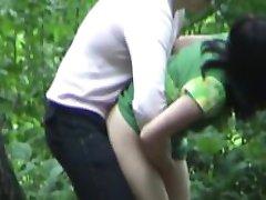 Ебля в лесу