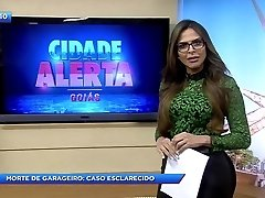 sylvie reporte mais gostosa ne brazilija prišlo poklon