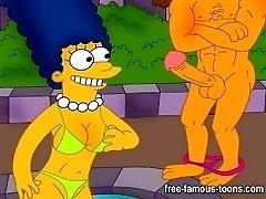 Simpsons og Griffer hardcore orgie