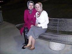 Turco, árabe, asiática hijapp mistura de ph