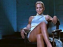 Sharon Stone crossing gams (Loop)