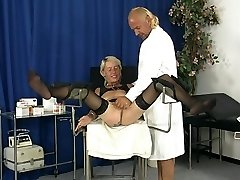 Mature Woman Gets Frigged By Doctor - DBM Video