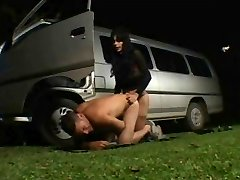 Getting Pulverized By The Car