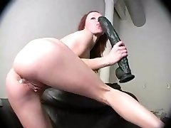 big dildo in ass on cam
