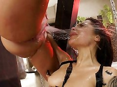 This squirting anal three-way will make you rock rock-hard