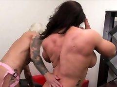 Dani Andrews Fucks Brandimae With A Belt Dick
