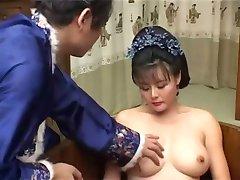 Kiinan kauneus kiimainen MILF