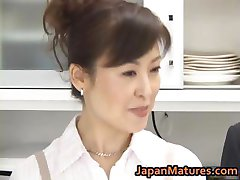 Hitomi Kurosaki परिपक्व एशियाई बेब 1