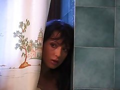 Mishel fucked in bathroom