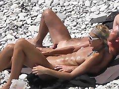 la playa de sexo Voyeur 4 DR3